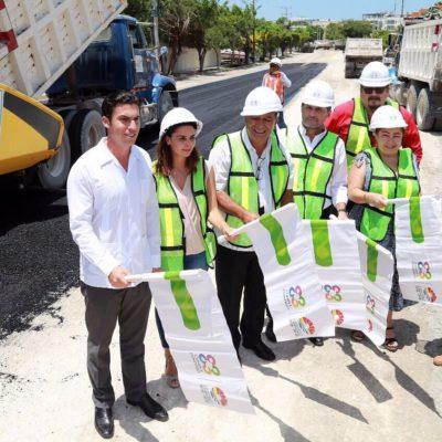 Inicia la reconstrucción de la Avenida Copán en Cancún; invierten más de 3.6 mdp