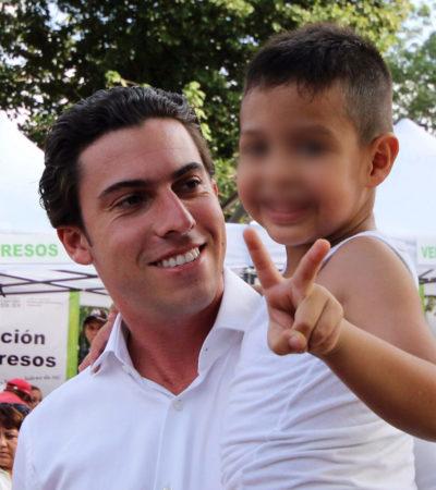 Ofrece Alcalde a redoblar esfuerzos para combatir la trata de personas en Cancún