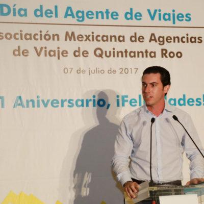 Destaca Remberto Estrada trabajo de agentes de viajes en posicionamiento de Cancún