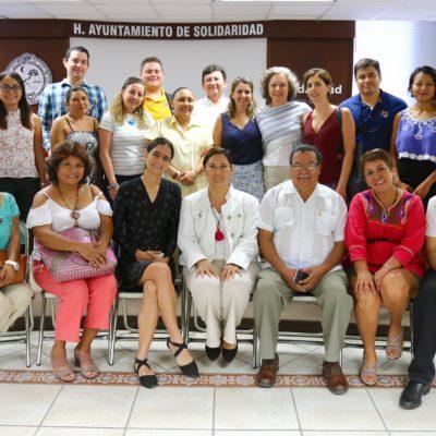 Se reúne Alcaldesa con asociaciones civiles para promover proyectos sociales en Solidaridad