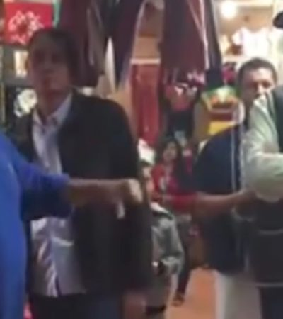 Rompeolas: Un cancunense, 'estrella' del video que cuestiona la complicidad de Vicente Fox con el PRI