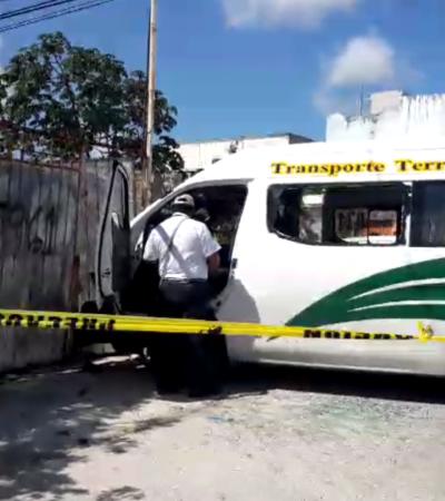 Accidente de transporte público deja ocho lesionados