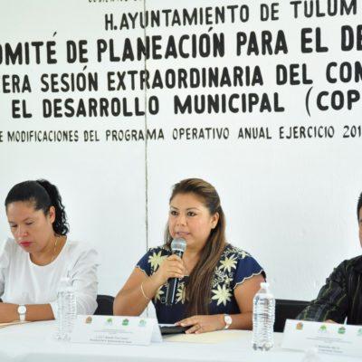 Logra Alcaldesa incremento en la inversión pública para Tulum