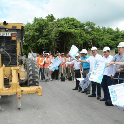 Inician obras de saneamiento del relleno sanitario y reconstrucción y alumbrado del camino de acceso en OPB
