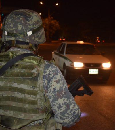 RESGUARDA EJÉRCITO INSTALACIONES DE LA VICEFISCALÍA EN CANCÚN: Cierran por quinta ocasión avenidas en prevención de un ataque tras la detención de narcos