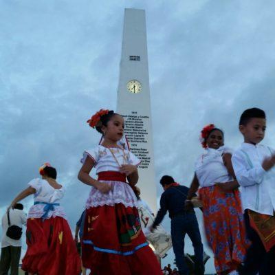 'VIVIR LA VIDA AL ESTILO CHETUMAL': Cientos de capitalinos bailan y recrean las verbenas de antaño
