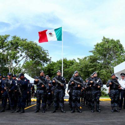 INAUGURAN EDIFICIO DE LA POLICÍA FEDERAL EN PLAYA: Inversión de más de 12 mdp para instalaciones para garantizar seguridad en la Riviera Maya
