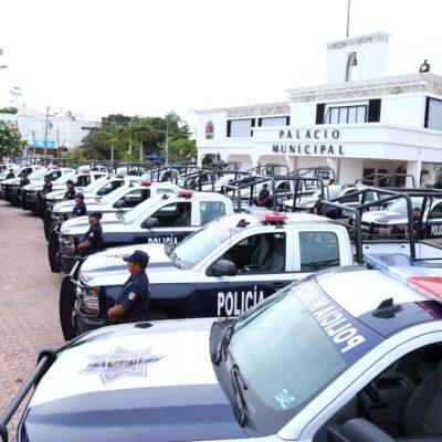 """ENTREGAN PATRULLAS PARA SOLIDARIDAD: """"Nada nos va a detener para devolver la seguridad"""", ofrece Alcaldesa"""