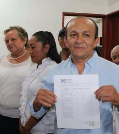 Derrotan panistas al candidato de Perla Tun