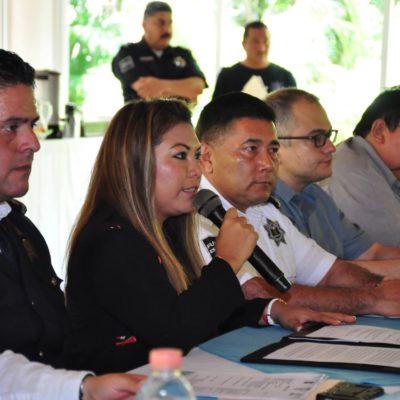 Realizan en Tulum la Quinta Sesión Ordinaria de la Conferencia Nacional de Seguridad Pública Municipal