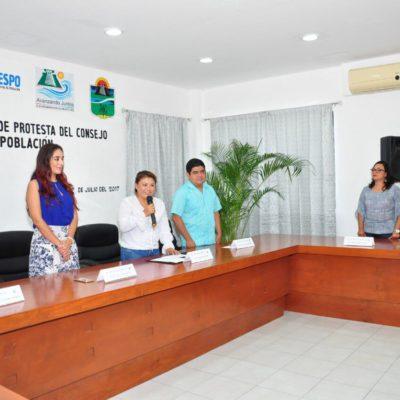 Firma Alcaldesa de Tulum convenio de coordinación con el Coespo