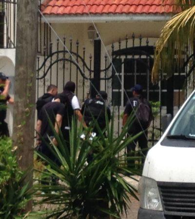 CAE EN CANCÚN AL 'JOSHUA': Tras cateos, detienen a presunto atacante de la Fiscalía