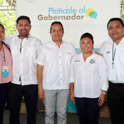 Destaca Alcaldesa acciones del Gobernador en favor del pueblo de Tulum
