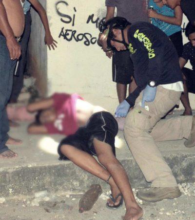 BALEAN A MENOR EN CANCÚN: Les disparan dos veces por la espalda a un adolescente en la SM 259