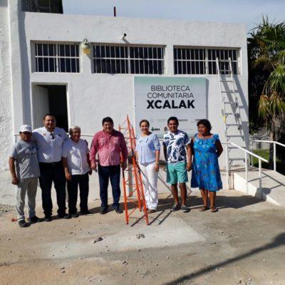 LLEVAN INTERNET HASTA XCALAK: Inicia instalación de torre que proveerá servicio gratuito a la comunidad en un mes