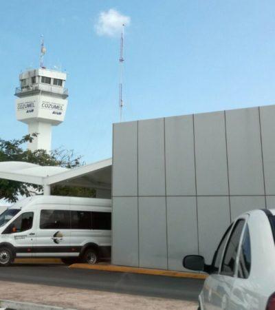 Endurecen medidas de seguridad en aeropuerto de Cozumel