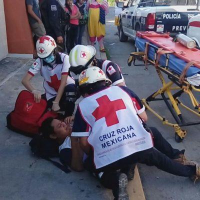 Por resistirse al asalto, apuñalan a un joven en la SM 65 de Cancún