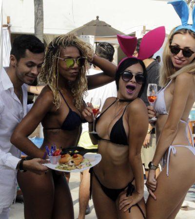 GALERÍA | Así fue la 'Pool Party' de Playboy en Cancún