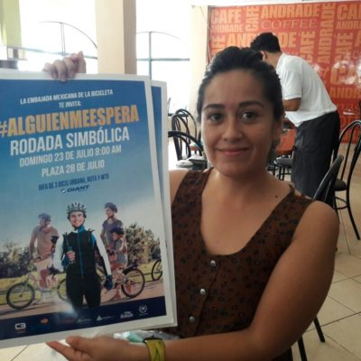 Promueven rodada en bicicleta en Playa para exigir a los automovilistas respeto al ciclista