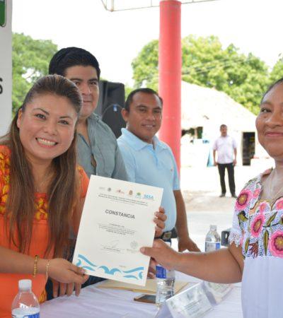 """Alejar la salud de la enfermedad, objetivo de """"Localidad con Entorno Saludable"""", dice Alcaldesa de Tulum"""