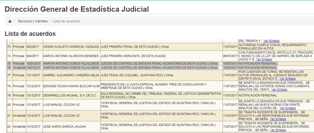 MARTÍN COBOS YA ESTÁ EN LA TABLITA: Ante el temor de ser detenido, ex secretario del Ayuntamiento de Tulum tramita amparo