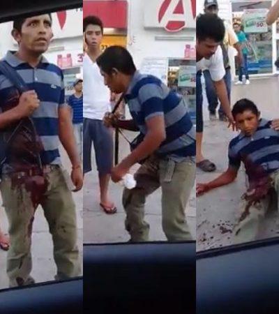 INSEGURIDAD, DRAMA Y MUERTE EN 'EL CRUCERO': Apuñalan a un joven y se desvanece en medio de la multitud; fallece en el hospital | VIDEO