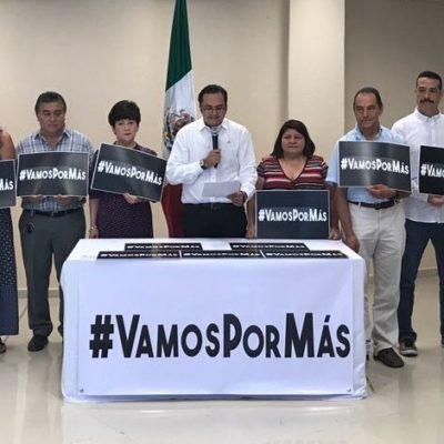 Se suma Coparmex a #VamosPorMás en rechazo a la corrupción e impunidad en Quintana Roo