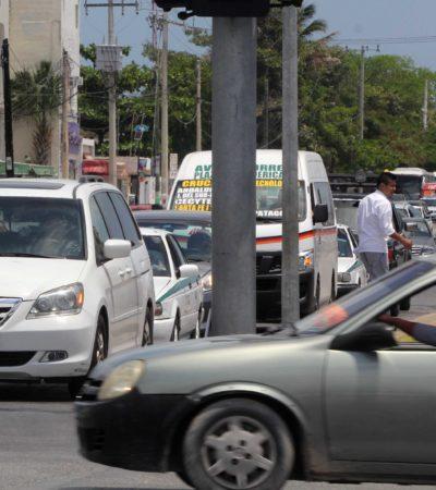 """""""A TODAS HORAS ES UN CAOS"""": Sugiere Colegio de Arquitectos aplicar el 'Hoy no Circula'… ¡en Cancún!"""