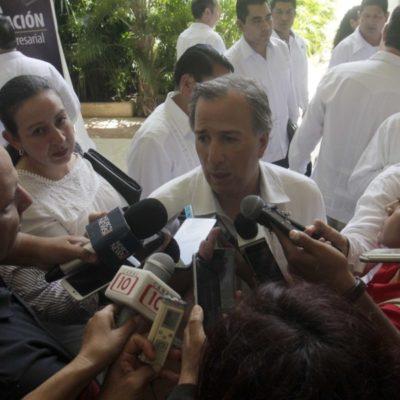 Pese condición financiera que heredó Borge, Quintana Roo aún tiene capacidad de endeudamiento, dice José Antonio Meade