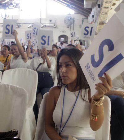 Concluye PAN renovación de siete comités municipales. En Cancún es reelegido Eduardo Pacho