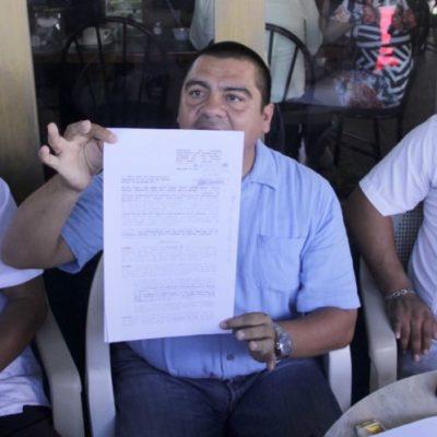 Tras resolutivo judicial, taxistas de Isla Mujeres desconocen a 'Wato' como su líder