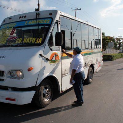 Existe desorganización en materia de transporte público; la dirección de Transporte y Vialidad no realiza su función, dice Eduardo Pacho