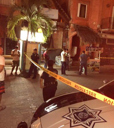 EJECUCIÓN EN ZONA TURÍSTICA DE PLAYA: Reportan ataque contra una persona en la Quinta Avenida con Calle 12