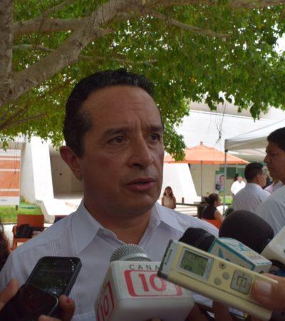 Buscará Carlos Joaquín recuperar terreno del CREA; reconoce Gobernador que se tiene que frenar la impunidad y la delincuencia