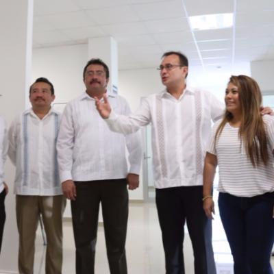 Inauguran autoridades edificio de Justicia Penal en Tulum