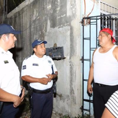 Buscan aplicar sectorización policiaca para mejorar vigilancia en Tulum