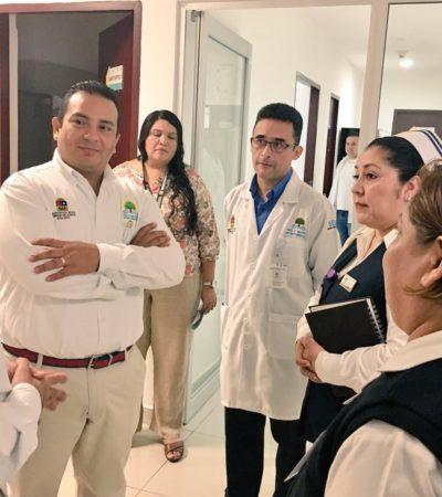 Realiza gobierno diagnóstico del sector salud
