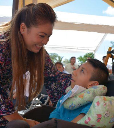 Con apoyo del Teletón, implementan consultas extramuros para beneficio de los más necesitados en Tulum