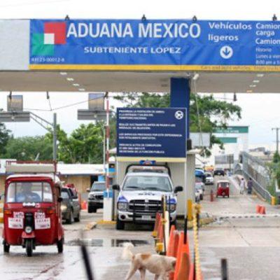 Alerta embajada de México en Belice a transportistas mexicanos del riesgo de llevar pasajeros hacia el vecino país