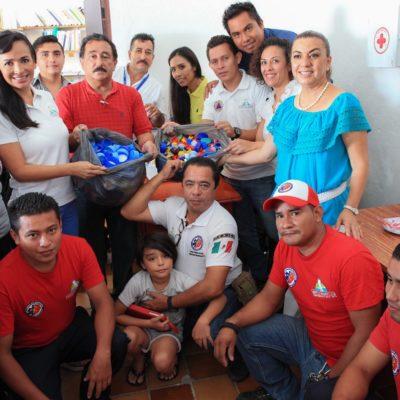 Invitan a sumarse a la campaña 'Tapando de Corazón' a favor de niños con cáncer en QR