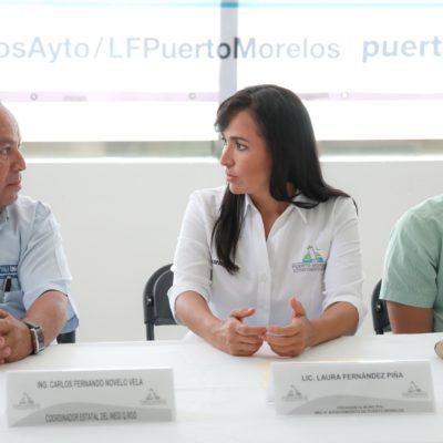 Colaboración entre el INEGI y el Ayuntamiento de Puerto Morelos sobre modernización catastral