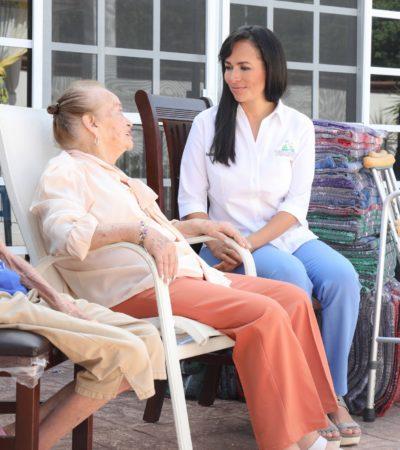 Reconoce Alcaldesa aportación de los adultos mayores en Puerto Morelos