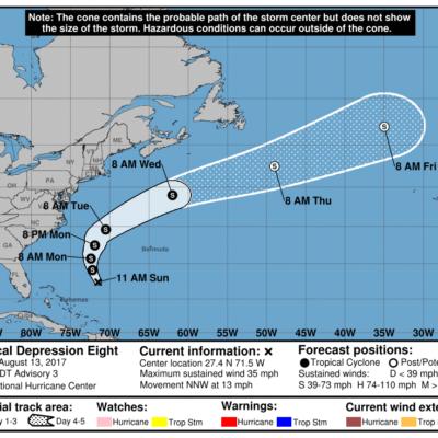 MONITOREO EN EL ATLÁNTICO: Surge depresión tropical; no hay peligro para costas de QR
