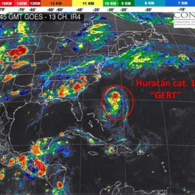 MONITOREO EN EL ATLÁNTICO: La tormenta 'Gert' se convierte en huracán categoría 1, pero no es amenaza para QR