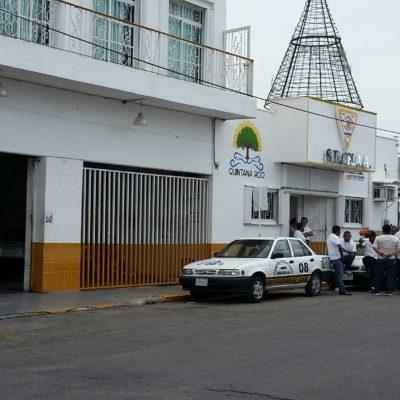 CONFLICTO SINDICAL EN EL SUCHAA: Fallido primer intento para recuperar instalaciones de taxistas en Chetumal