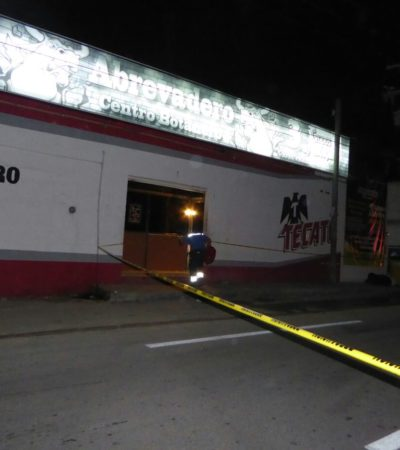 SANGRIENTA JORNADA EN PLAYA: Balean a un hombre en Villamar I y ejecutan a otro en el bar 'El Abrevadero'