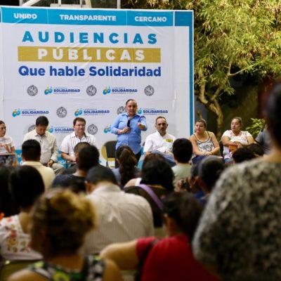 Realizan audiencia pública en Mundo Hábitat en Playa