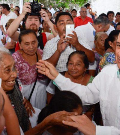 Comunidades indígenas tendrán mejor calidad de vida con sistemas de saneamiento integral, dice Gobernador