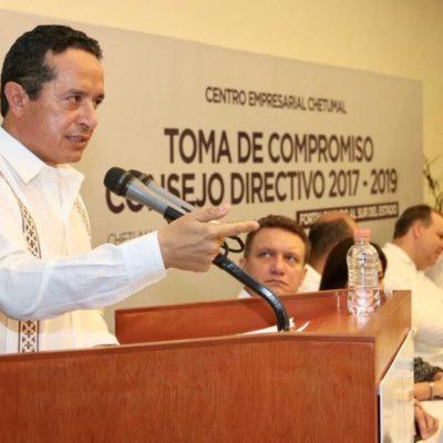 Pide Gobernador colaboración de todos para cerrar la brecha entre el norte y el sur de Quintana Roo