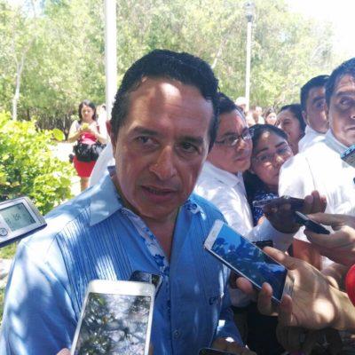 """""""HAY QUE REGRESARLA A COMO ANTES"""": Se pronuncia Carlos Joaquín en defensa de la ciclopista de la Zona Hotelera de Cancún"""